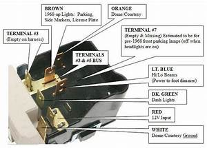 Chevy Gm Gmc Pontiac Cadillac Headlight Switch Headlamp Light Bulb Control Hs09