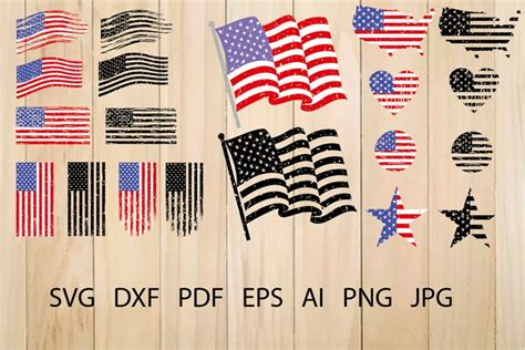 American Flag Distressed Svg Free – 156+ Crafter Files