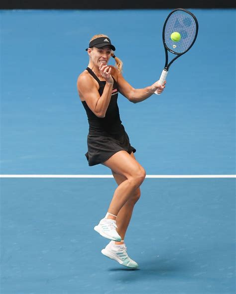 1 and winner of three grand slam tournaments, she made her profe. ANGELIQUE KERBER at Hopman Cup Tennis in Perth 01/02/2019 ...