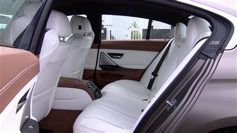 bmw  series gran coupe interior reveal footage youtube