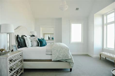 bedroom light blue walls camelback headboard transitional bedroom davies 14338