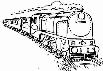 Train Coloring Steam Netart