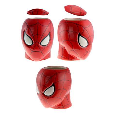 spider man head cookie jar