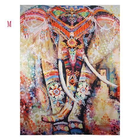 elephant rug indian hippie mandala tapestry elephant wall hanging