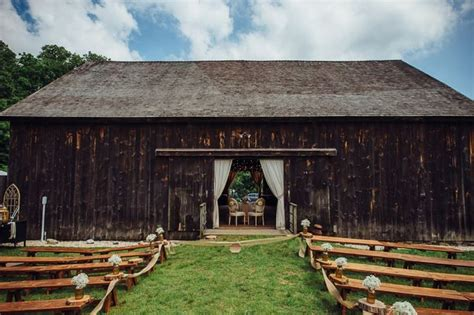 Tara + Mandi's Elegant Rustic Barn Wedding At George Weir