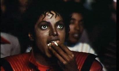 Jackson Michael Popcorn Thriller Eating Mj Exhibit