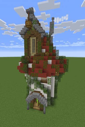 mini mushroom house mini build series  minecraft map