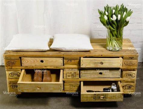 meuble palette bois des meubles originaux en bois de palette 20 id 233 es tutorial