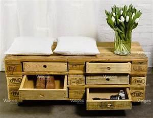 Palette De Bois : des meubles originaux en bois de palette 20 id es ~ Premium-room.com Idées de Décoration