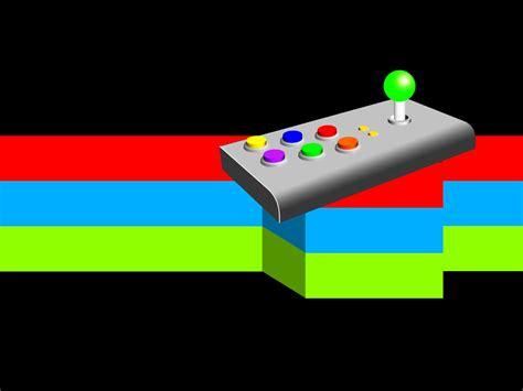 arcade template download retro arcade joystick game backgrounds games technology