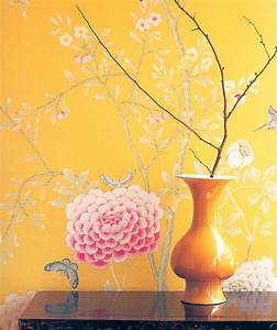 style court: Chinoiserie Wallpaper