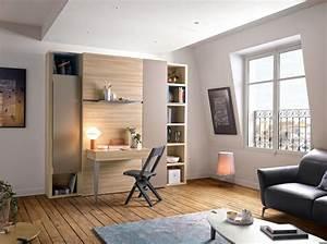 Lit Armoire Gain De Place : am nagement int rieur le blog d co de mlc ~ Premium-room.com Idées de Décoration