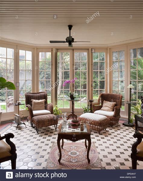 1930 homes interior garden room recently restored 1930s colonial
