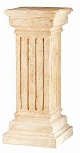 Dórica column (plaster) T11 (30 x 73 x 30) - Decorar con Arte