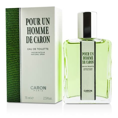 pour un homme de caron eau de toilette spray 75ml cosmetics now australia