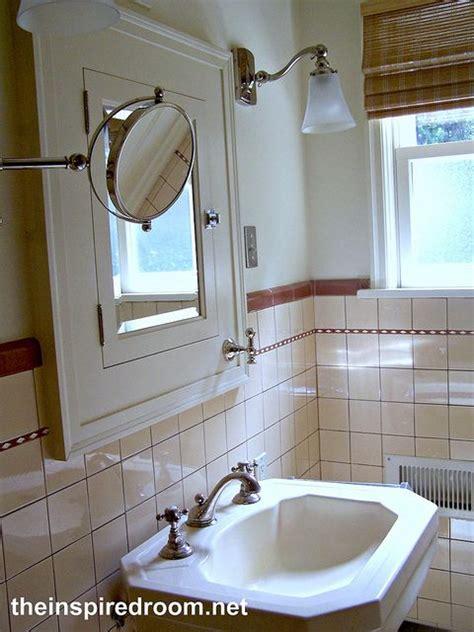 1930s bathroom ideas like this medicine cabinet cute hook on the corner for towel bathroom pinterest english