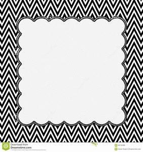 Cadre Noir Et Blanc : cadre noir et blanc de chevron avec le fond de broderie image stock image du mat riau ~ Teatrodelosmanantiales.com Idées de Décoration