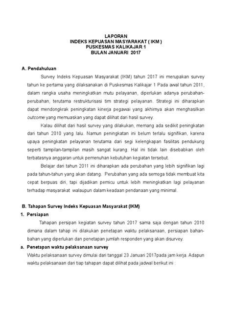 Contoh Notulen Seminar Kesehatan by Contoh Indek Kepuasan Pelayanan Puskesmas