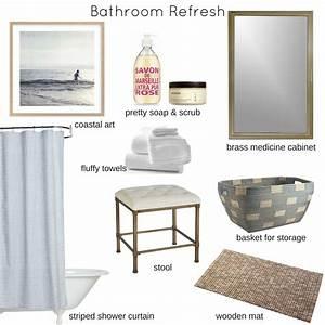 Cottage, And, Vine, Bathroom, Refresh
