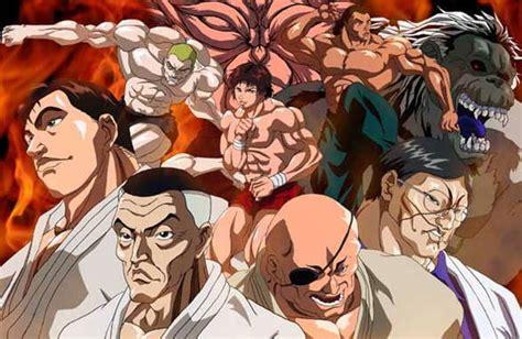 baki anime jk grappler baki staffel 2 maximum tournament baki the