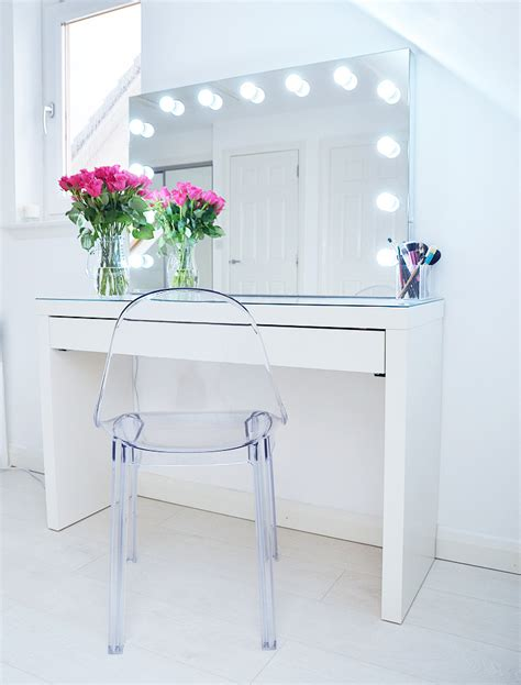 makeup vanity with lights ikea ikea bedroom vanity great storage ideas atzine com