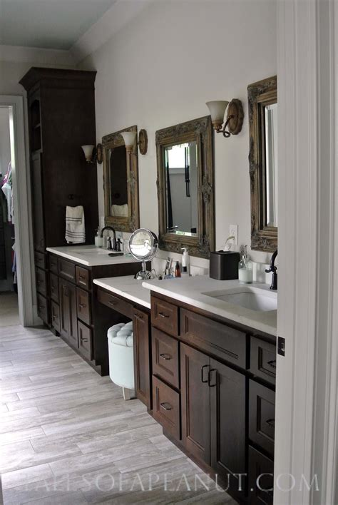 master bath vanity cabinets building a home master bathroom reveal jenn elwell