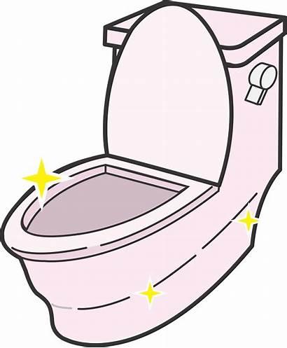 Clipart Toilet Clean Sparkling Transparent Webstockreview