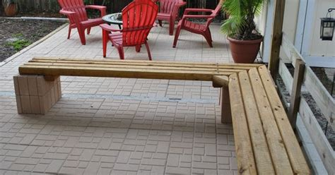 cheap outdoor landscape timber bench seating materials