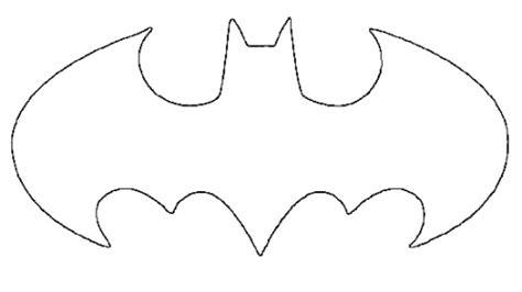 batman symbol outline    clipartmag