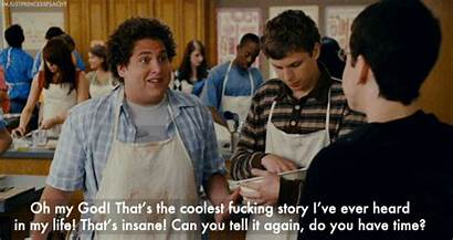 Gifs Superbad Story Coolest Quotes Cool Super