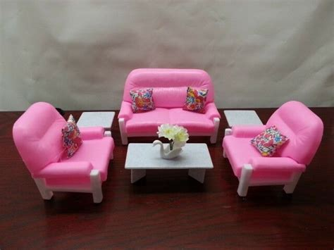 Dollhouse Furniture Set by Gloria Doll House Furniture 94014 Living Room