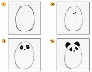 Basic Steps to Draw Panda in Chinese Painting | Chinese ...