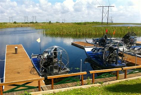 Everglades Propeller Boats by Gliding Through The Everglades On An Airboat