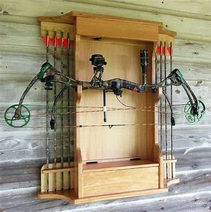 How To Build A Archery Bow Rack - WoodWorking Projects & Plans