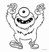 Monster Coloring Pages Printable Monsters Cool2bkids Sheets Printables Halloween Cute Print Comprehensive Drawing Fun sketch template