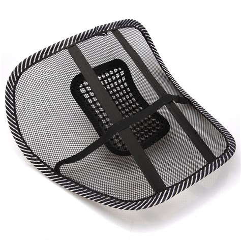 car seat chair back lumbar support mesh ventilate