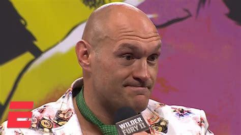 Tyson Fury breaks down TKO victory vs. Deontay Wilder in ...