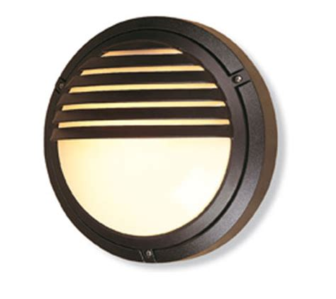 v405bl verona round outdoor wall light in black grilled