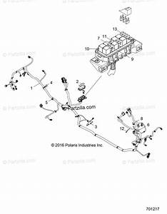 Polaris Side By Side 2018 Oem Parts Diagram For Electrical  Wire Harness