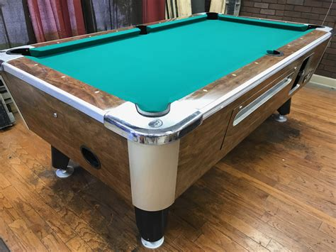 coin op pool table 6 1 2 39 bar pool tables used coin operated bar pool tables