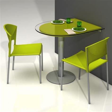 table de cuisine en verre avec rallonge spécial petit espace table pliante et meuble gain de