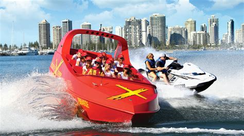 Boat Suppliers Gold Coast by Jet Boat Thrill Ride And Jet Ski Experience For 2