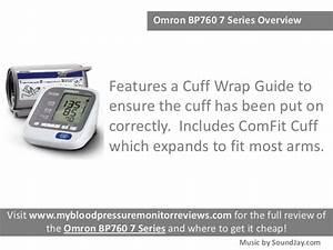 Omron Bp760 7 Series Blood Pressure Monitor