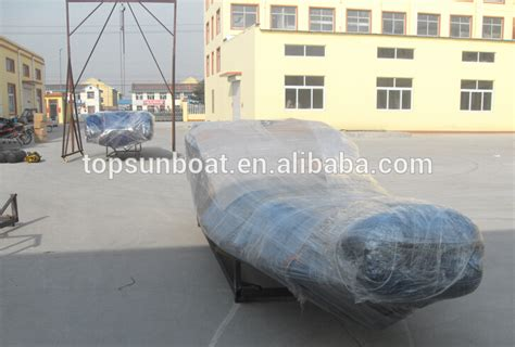 Inflatable Boat Manufacturing Process by High Quality Rib Boat With Fiberglass Hull Sailing Or