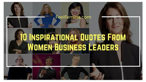 inspirational quotes  women business leaders youtube