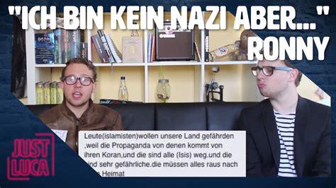 """Interview Mit """"ich Bin Kein Nazi Aber"""" Ronny Just"""
