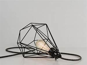 shop desk lamp premium diamond cage jet black on With kitchen cabinet trends 2018 combined with birdcage candle holders