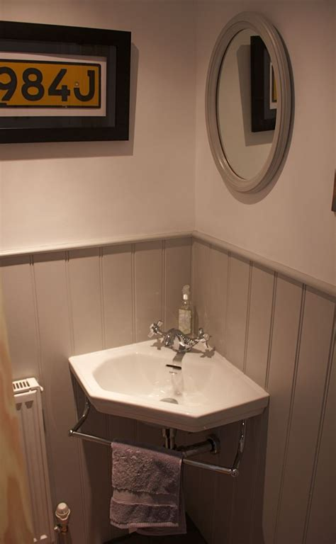 ideas  corner sink bathroom  pinterest corner