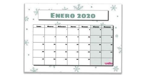 calendario escolar imprimir escuela