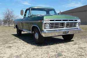 Sell Used 1974 Ford F250 Ranger Camper Special 460 Engine